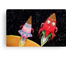 Princess Rocketship and MaShip Canvas Print