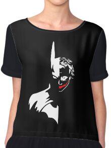 Batman/Joker Chiffon Top