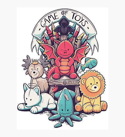 Game of Thrones - Game of Toys Photographic Print