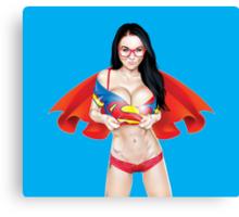 Super Jen Canvas Print