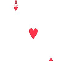 Ace of hearts by davhid