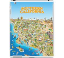 Cartoon Map of Southern California iPad Case/Skin