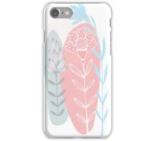 flowers abstract design iPhone Case/Skin