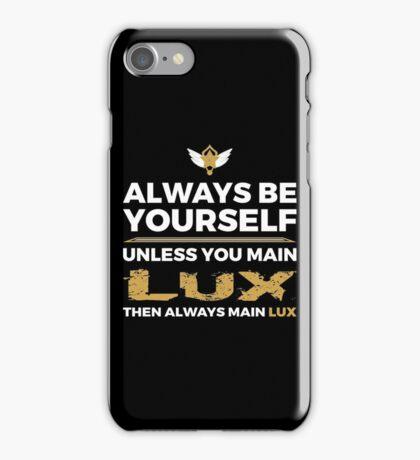 Lux Main iPhone Case/Skin