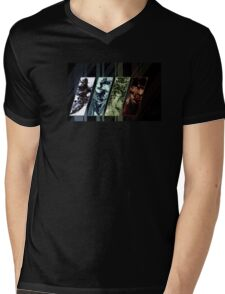 MGS Four Snakes Mens V-Neck T-Shirt