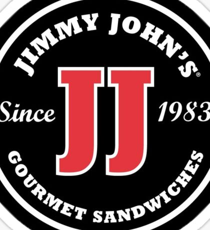 jimmy johns Sticker