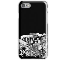 Survival Guide (white) iPhone Case/Skin