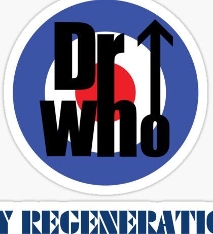 Dr Who My Regeneration Sticker