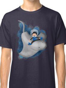 Stingray and boy Classic T-Shirt