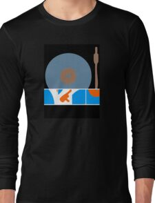 Peace Turntable Vinyl Record Long Sleeve T-Shirt