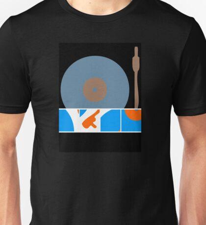 Peace Turntable Vinyl Record Unisex T-Shirt