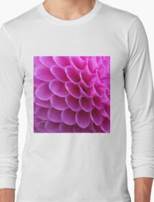 Pink Puzzle Long Sleeve T-Shirt