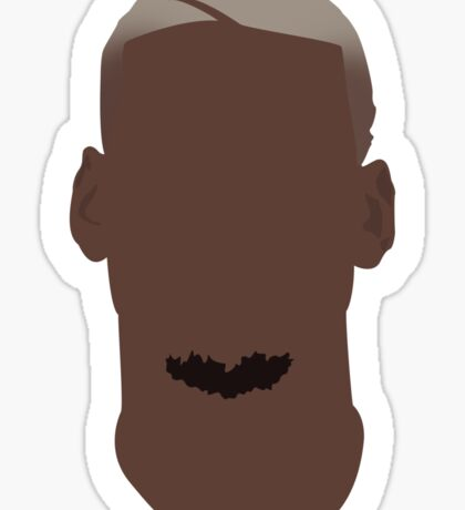 Paul Pogba Vector Portrait Sticker