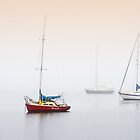 Misty Bay - Corio Bay,Geelong by Hans Kawitzki