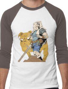 Finn And Jake Men's Baseball ¾ T-Shirt