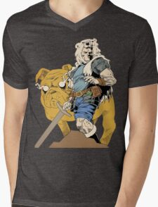 Finn And Jake Mens V-Neck T-Shirt