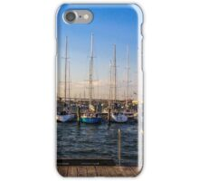 Williamstown yachts iPhone Case/Skin