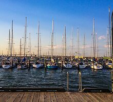 Williamstown yachts by visualimagery