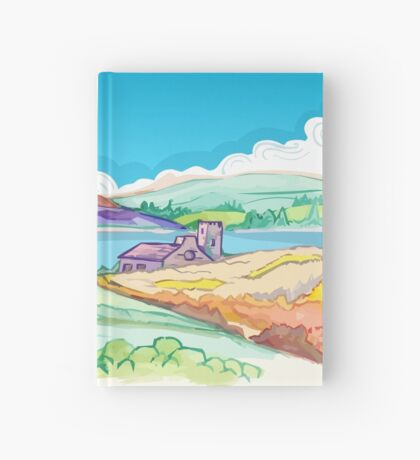 Picture - Hills in Spring Hardcover Journal