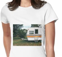 Vintage Trailer Old and Loved Womens Fitted T-Shirt