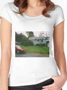 Vintage Car Old and Loved Women's Fitted Scoop T-Shirt
