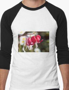 flower in spring Men's Baseball ¾ T-Shirt