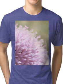 Lilac Flower Romantic Macro Photograph Tri-blend T-Shirt