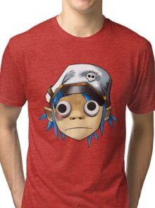 2D Googlyeyed Tri-blend T-Shirt