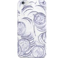old coins iPhone Case/Skin