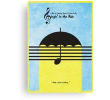 Singin' in the Rain Canvas Print