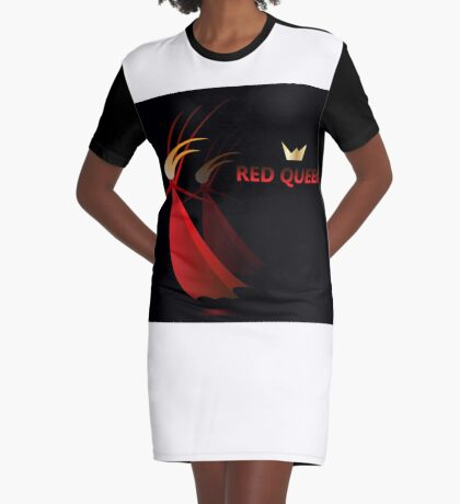 Red queen, women in red, god save queen Graphic T-Shirt Dress