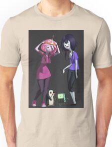 Adventure Time - Bubblegum and Marceline Unisex T-Shirt