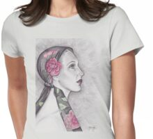 The Artist's Scarf Womens Fitted T-Shirt