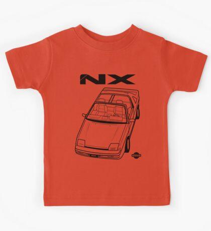 Nissan Pulsar NX Action Shot (LHD) Kids Tee