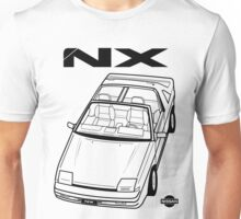 Nissan Pulsar NX Action Shot (LHD) Unisex T-Shirt