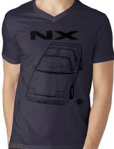 Nissan Pulsar NX Action Shot (LHD) Mens V-Neck T-Shirt