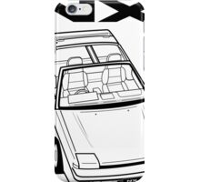 Nissan Pulsar NX Action Shot iPhone Case/Skin