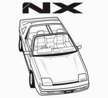 Nissan Pulsar NX Action Shot Kids Tee