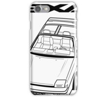 Nissan Exa Action Shot (LHD) iPhone Case/Skin