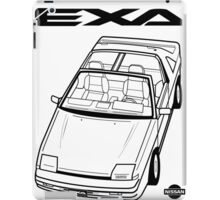 Nissan Exa Action Shot (LHD) iPad Case/Skin