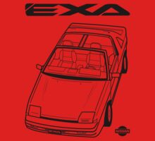 Nissan Exa Action Shot (LHD) Kids Clothes