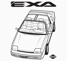 Nissan Exa Action Shot (LHD) by SEZGFX