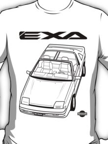Nissan Exa Action Shot (LHD) T-Shirt