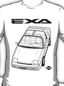 Nissan Exa Action Shot (LHD) T-Shirt