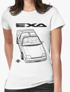 Nissan Exa Action Shot Womens Fitted T-Shirt