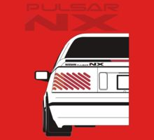 Nissan NX Pulsar Coupe - White Kids Clothes