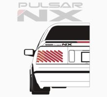 Nissan NX Pulsar Coupe - White by SEZGFX