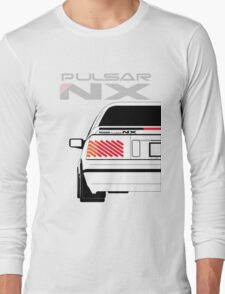 Nissan NX Pulsar Coupe - White Long Sleeve T-Shirt