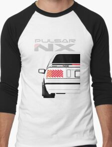 Nissan NX Pulsar Coupe - White Men's Baseball ¾ T-Shirt