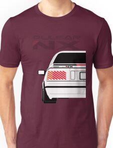 Nissan NX Pulsar Coupe - White Unisex T-Shirt